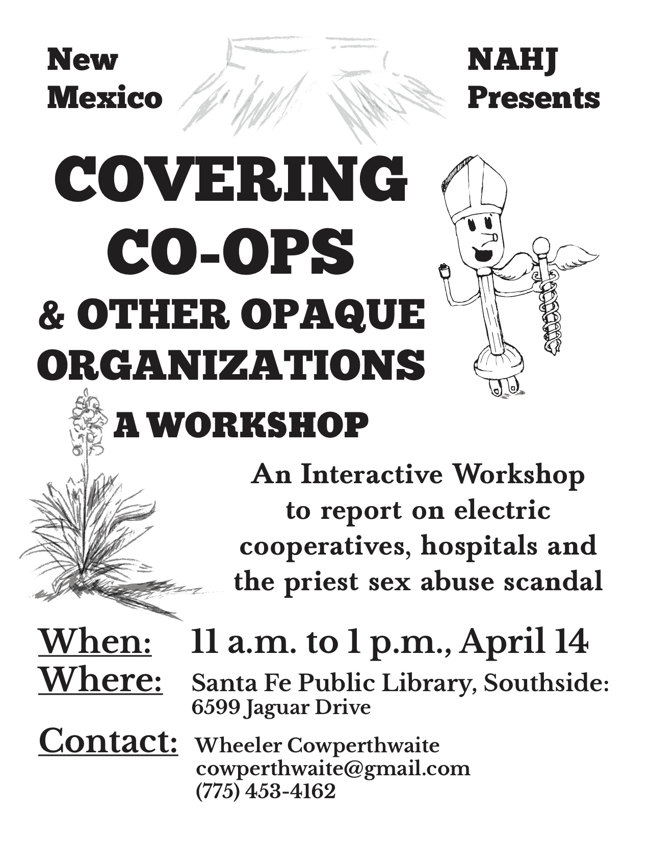 WORKSHOP: Covering Co-OPS & Other Opaque Organizations