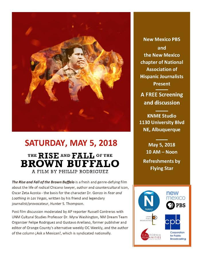 Event: The Rise and Fall of the Brown Buffalo