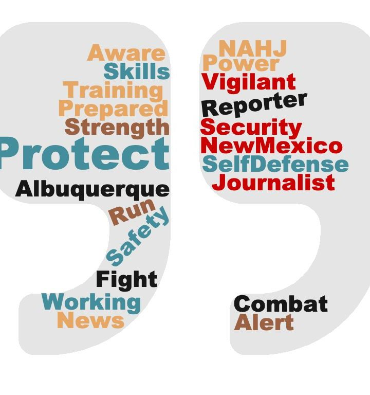 NM NAHJ Self-defense Class for Journalists